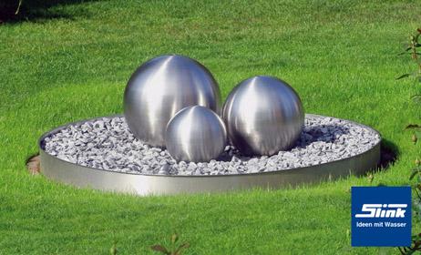 Acier inoxydable fontaine